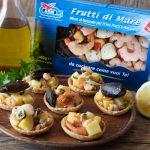 Cestini di frutti di mare - Con Videoricetta