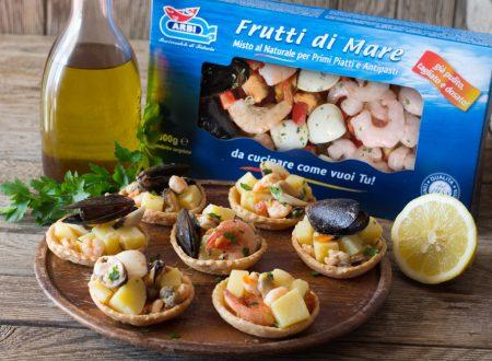 Cestini di frutti di mare – Con Videoricetta