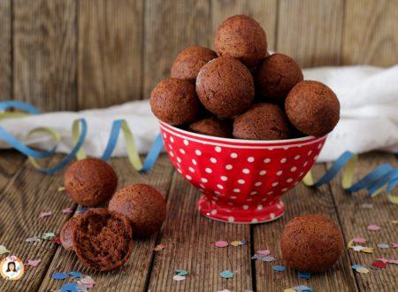 Castagnole al cioccolato – Anche Bimby con Video ricetta