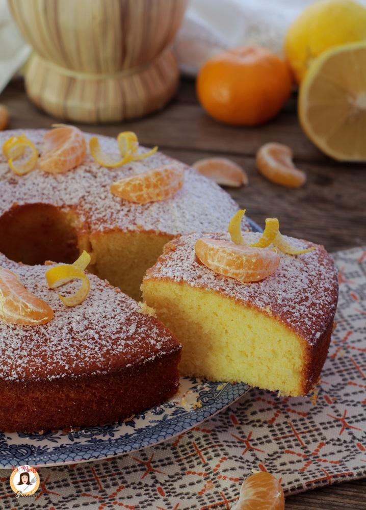 Ciambella Al Limone E Mandarino Anche Bimby Torta Agli Agrumi Soffice