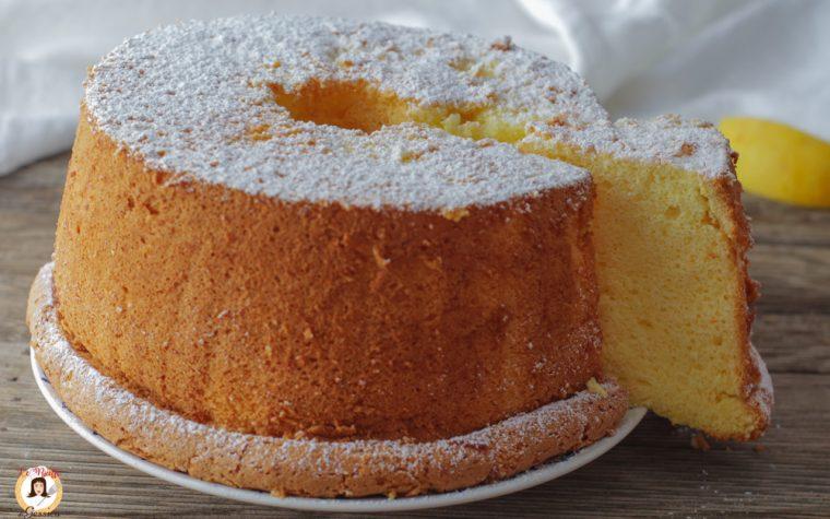 Chiffon Cake all'arancia – Ciambellone Alto Americano