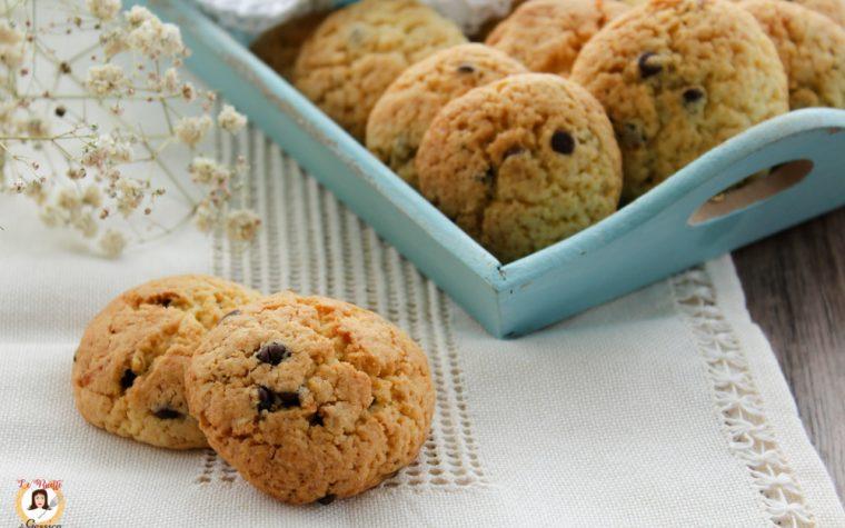 Biscotti con gocce di cioccolato - Anche Bimby Sempre croccanti