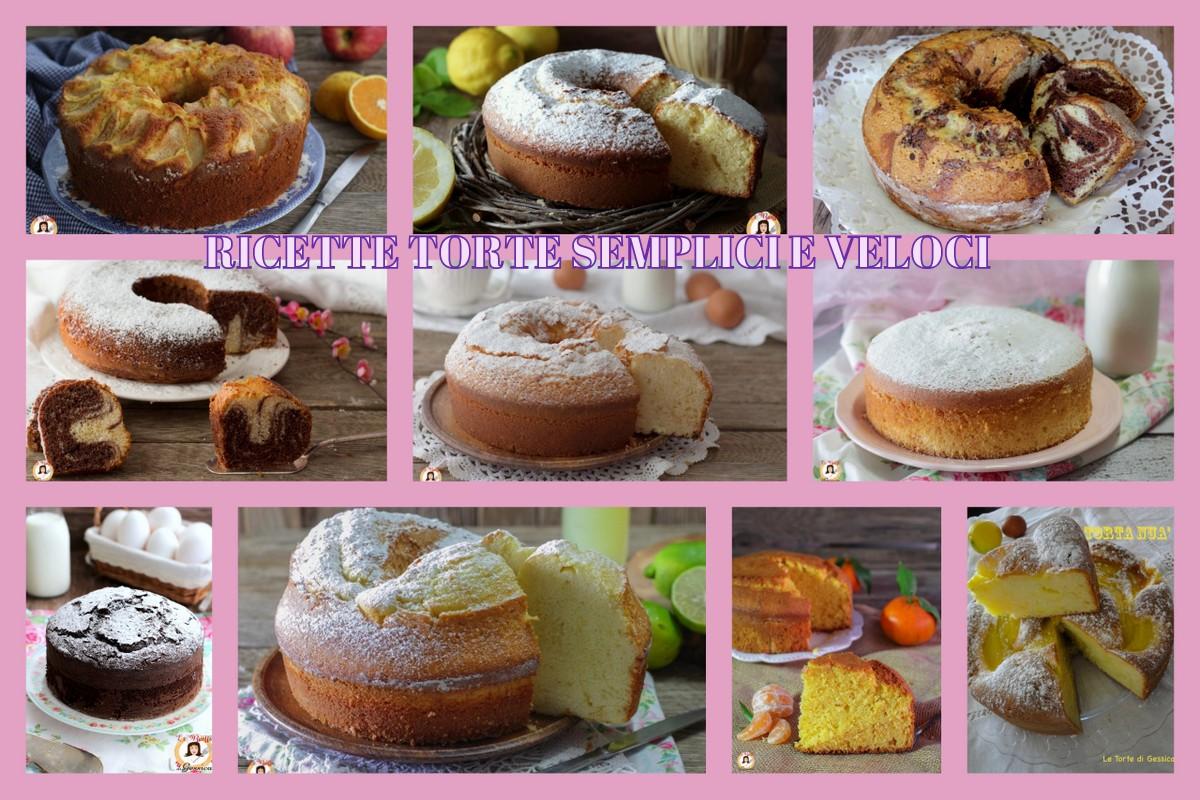 Torte semplici e veloci anche bimby ricette di for Ricette torte semplici