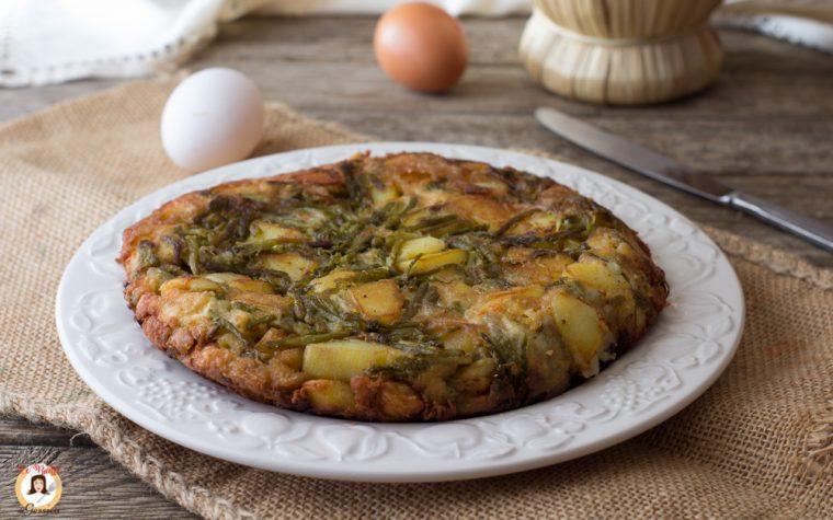 Frittata di asparagi e patate filante – Fritta o al forno