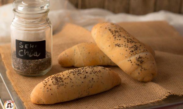 Pane ai semi di chia – Anche Bimby