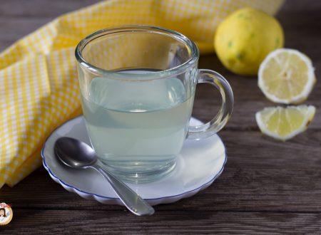 Tisana digestiva al limone- Ricetta canarino