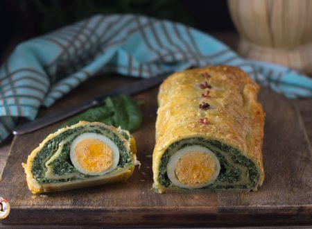 Rotolo torta Pasqualina – Ricetta di Pasqua