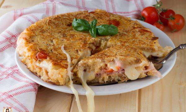 Torta di pane raffermo in padella – Con video ricetta