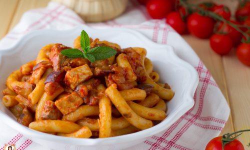 Pasta pesce spada e melanzane alla Siciliana - Anche Bimby