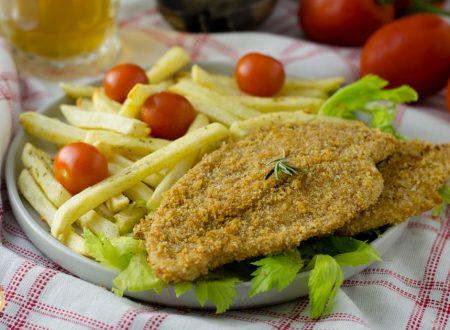 Cotolette senza uova e latte – Pollo panato Cotto al forno