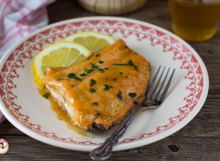 Salmone al miele e senape - Filetto marinato