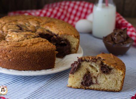 Torta alla Nutella cremosa e soffice- Anche Bimby