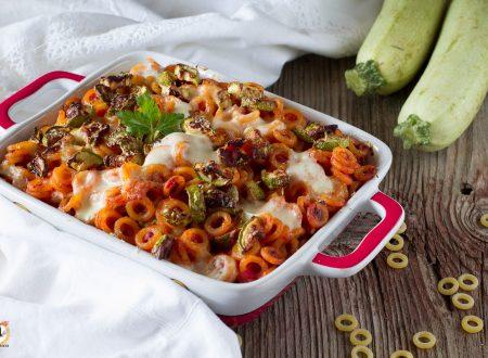 Timballo Siciliano di anelletti con zucchine -Pasta al forno