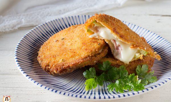 Cordon bleu di zucchine – Fritti o cotti al forno – Anche senza uova
