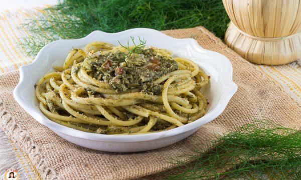 Pasta con le sarde e finocchietto selvatico – Ricetta Siciliana