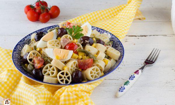 Insalata di pasta fredda sfiziosa – Ricetta veloce di Nonna Nina