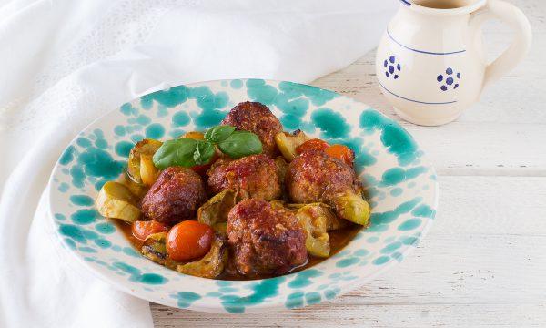 Polpette con zucchine al forno – Anche Bimby