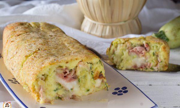 Rotolo di zucchine e patate filante – Con Video ricetta