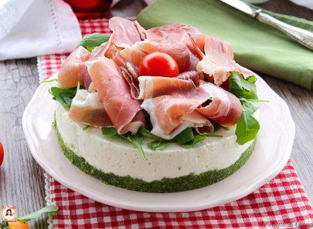 Cheesecake Salata con prosciutto crudo e rucola – Anche Bimby