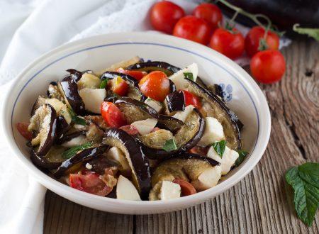 Insalata di melanzane grigliate Siciliana