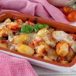 Patate alla pizzaiola filanti- Cotte al forno o in padella