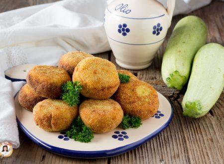 Polpette di zucchine ricotta e tonno – Anche al forno