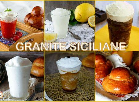 Granite Siciliane: raccolta di ricette- Anche Bimby