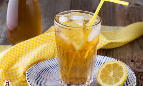 Tè freddo fatto in casa: con infusione a caldo o a freddo – Vari gusti, anche senza zucchero