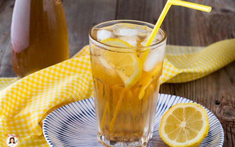Tè freddo fatto in casa: con infusione a caldo o a freddo - Vari gusti, anche senza zucchero