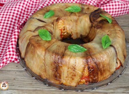 Timballo di anelletti alla Siciliana con melanzane - Pasta al forno