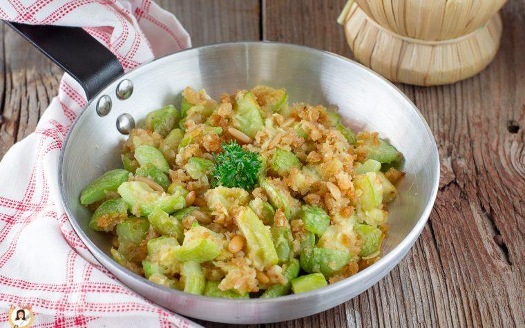 Zucchine gratinate in padella - Zucchine ammollicate alla Siciliana