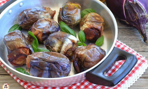 Melanzane ripiene alla Siciliana in bianco – Cotte in padella anche Bimby
