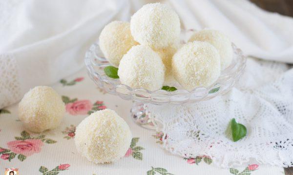 Palline mascarpone e cocco – Dolcetti PARADISO