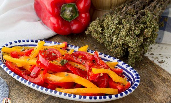 Insalata di peperoni crudi senza cottura