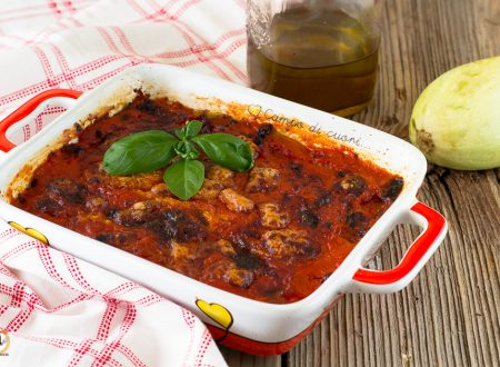 Parmigiana di zucchine crude – Ricetta veloce