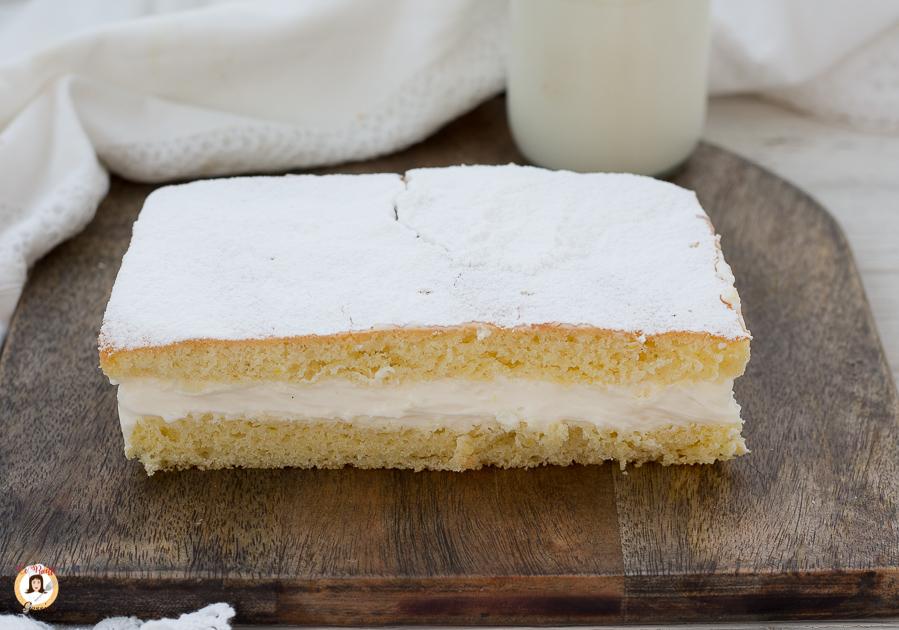 Ricetta Torta Kinder Paradiso Senza Fecola Di Patate.Torta Paradiso Con Crema Al Latte Dolce Ripieno Ricetta Anche Bimby