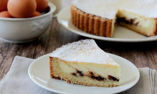 Crostata di ricotta e cioccolato - Ricetta Siciliana anche Bimby