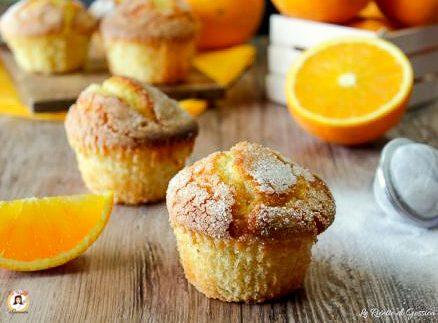 Muffin all'arancia - Anche Bimby