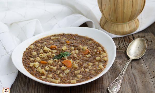 Pasta e lenticchie – Anche Bimby