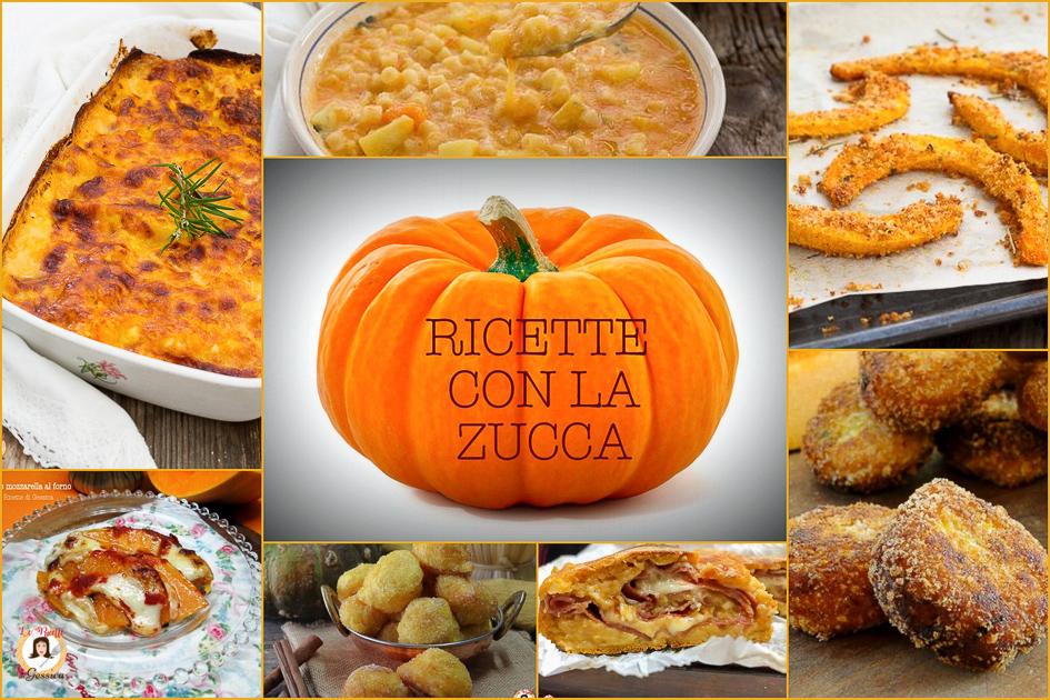 RICETTE con LA ZUCCA cotti al forno o padella - Primi ...