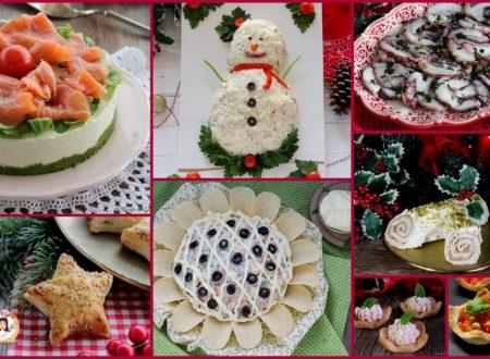 Antipasti di Natale – Raccolta ricette facili, veloci, sfiziose