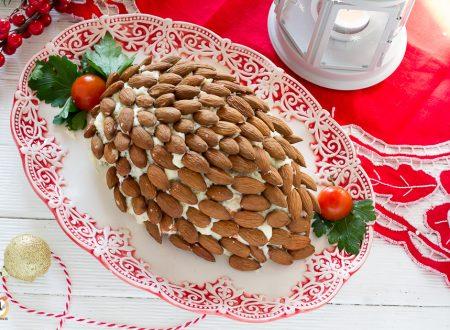 Antipasto Pigna con insalata russa e mandorle