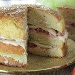 Focaccia tramezzino - Torta salata anche Bimby