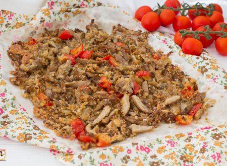 Funghi gratinati al forno croccanti – Contorno con funghi Pleurotus
