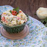 Insalata russa vegana con maionese senza uova - Anche Bimby