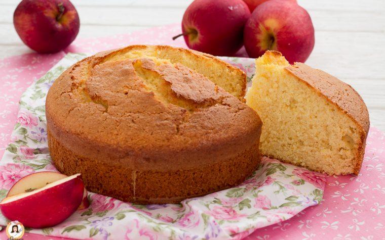 Torta di mele frullate all'arancia - Anche Bimby