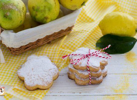 Biscotti con farina di mais al limone – Impasto integrale allo yogurt