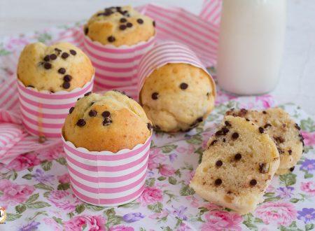 Muffin con gocce di cioccolato senza burro – Anche Bimby