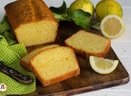 Plumcake al limone e yogurt – Anche Bimby