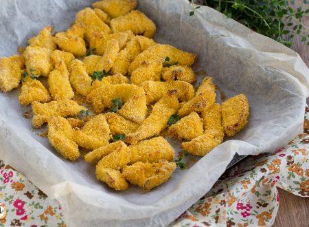 Bocconcini di pollo al forno croccanti